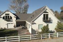 Dream House Plan - Farmhouse Exterior - Other Elevation Plan #1060-48