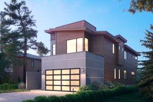 Modern Exterior - Front Elevation Plan #1066-106
