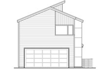 Home Plan - Modern Exterior - Rear Elevation Plan #124-920