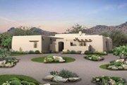 Adobe / Southwestern Style House Plan - 3 Beds 2.5 Baths 1907 Sq/Ft Plan #72-119