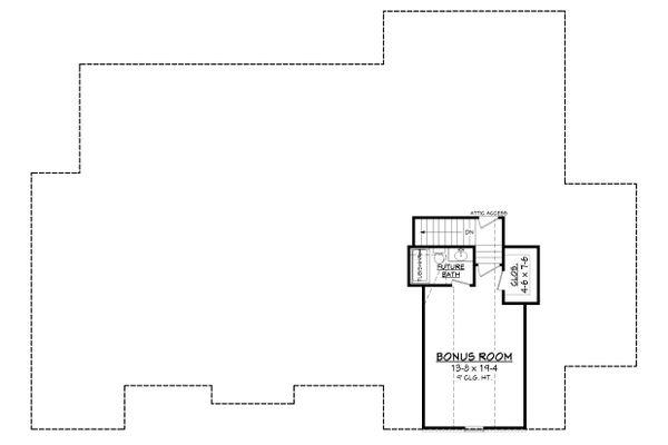 European Floor Plan - Other Floor Plan Plan #430-154