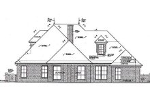 Home Plan - European Exterior - Rear Elevation Plan #310-964