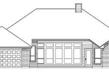 Dream House Plan - European Exterior - Rear Elevation Plan #84-250