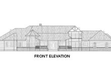 Tudor Exterior - Other Elevation Plan #60-241