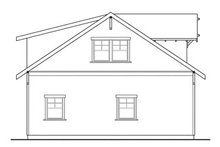 Dream House Plan - Craftsman Exterior - Other Elevation Plan #124-635
