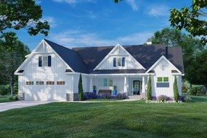 Farmhouse Exterior - Front Elevation Plan #929-1138