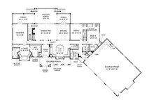 Country Floor Plan - Main Floor Plan Plan #119-365