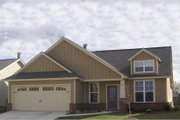Craftsman Style House Plan - 3 Beds 2 Baths 1788 Sq/Ft Plan #63-182 Exterior - Front Elevation