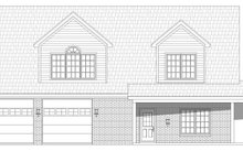 Home Plan - Traditional Exterior - Front Elevation Plan #932-402