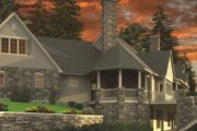 European Style House Plan - 5 Beds 5.5 Baths 7031 Sq/Ft Plan #48-362 Exterior - Other Elevation