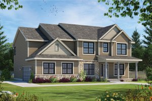 Traditional Exterior - Front Elevation Plan #20-2421