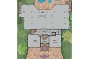 Beach Style House Plan - 3 Beds 4 Baths 4521 Sq/Ft Plan #548-10 Floor Plan - Lower Floor