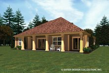 Architectural House Design - Ranch Exterior - Rear Elevation Plan #930-482
