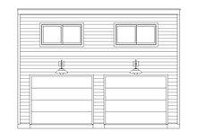 House Plan Design - Contemporary Exterior - Front Elevation Plan #932-290