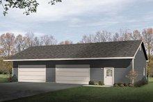 House Plan Design - Ranch Exterior - Front Elevation Plan #22-548