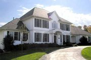 Modern Style House Plan - 4 Beds 2.5 Baths 2751 Sq/Ft Plan #70-437 Exterior - Front Elevation