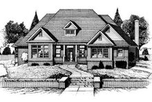 Dream House Plan - Traditional Exterior - Front Elevation Plan #20-939