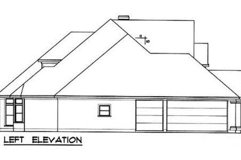 European Exterior - Other Elevation Plan #40-238 - Houseplans.com