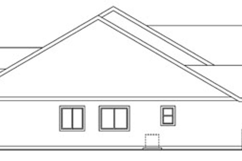 Craftsman Exterior - Other Elevation Plan #124-750 - Houseplans.com