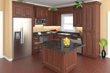 Traditional Interior - Kitchen Plan #21-343