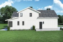 Architectural House Design - Farmhouse Exterior - Other Elevation Plan #1070-134