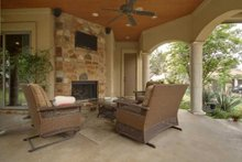 Home Plan - Mediterranean Exterior - Outdoor Living Plan #80-124