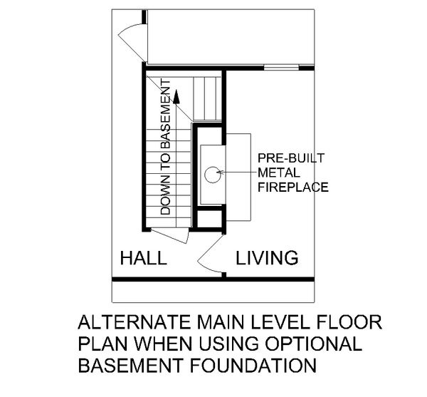 Architectural House Design - Traditional Floor Plan - Other Floor Plan #45-130