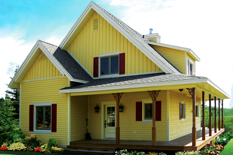 Farmhouse Exterior - Front Elevation Plan #23-2582