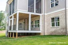 Dream House Plan - Craftsman Exterior - Rear Elevation Plan #929-1040