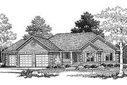 Traditional Style House Plan - 3 Beds 2 Baths 1640 Sq/Ft Plan #70-172 Photo