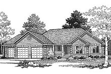 House Plan Design - Traditional Photo Plan #70-172
