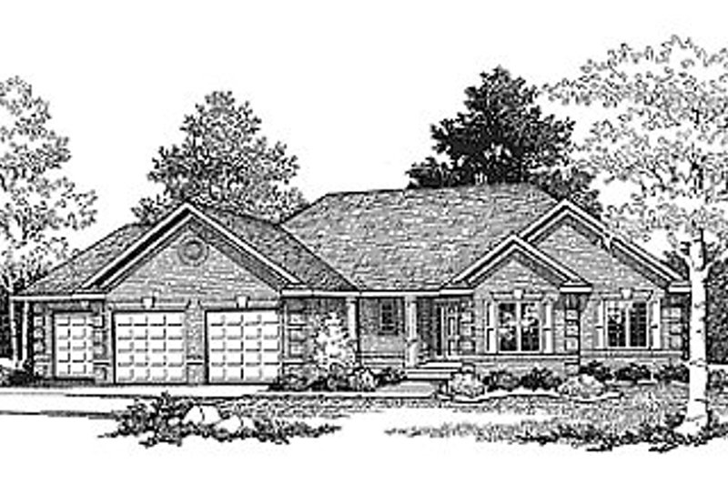 Traditional Photo Plan #70-172 - Houseplans.com