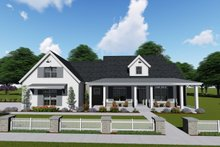 Farmhouse Exterior - Front Elevation Plan #1069-4