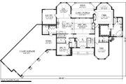 Ranch Style House Plan - 2 Beds 2.5 Baths 3104 Sq/Ft Plan #70-1063 Floor Plan - Main Floor Plan
