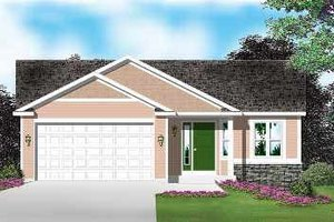 Traditional Exterior - Front Elevation Plan #49-183