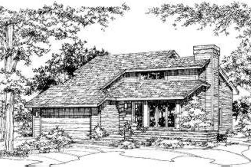 Home Plan - Exterior - Front Elevation Plan #320-121