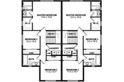 Craftsman Style House Plan - 3 Beds 2.5 Baths 1703 Sq/Ft Plan #126-196