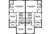 Craftsman Style House Plan - 3 Beds 2.5 Baths 1703 Sq/Ft Plan #126-196