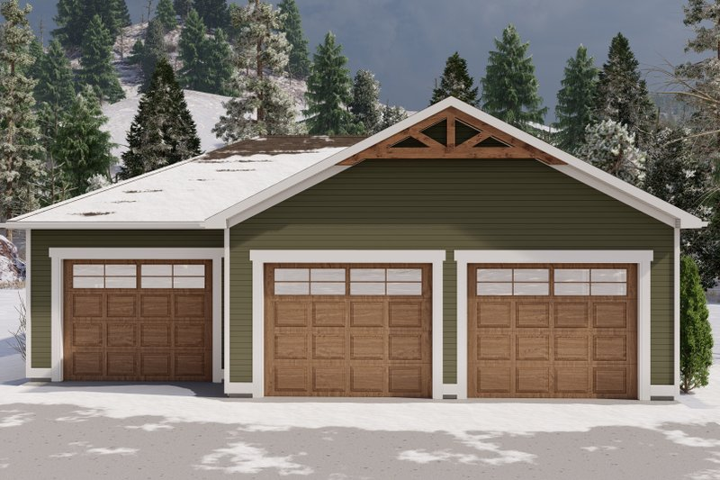 House Design - Traditional Exterior - Front Elevation Plan #1060-119