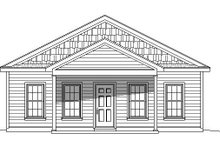 Home Plan - Traditional Exterior - Front Elevation Plan #932-108