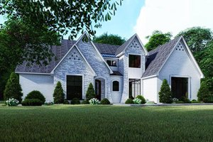 Contemporary Exterior - Front Elevation Plan #923-125