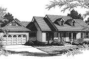 Southern Style House Plan - 4 Beds 3.5 Baths 2519 Sq/Ft Plan #14-102