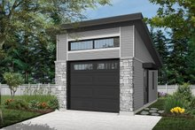 House Design - Traditional Exterior - Front Elevation Plan #23-2633