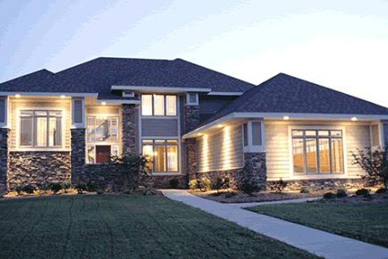 Prairie Exterior - Other Elevation Plan #20-217 - Houseplans.com