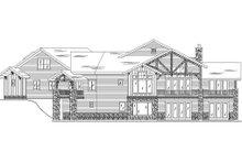 Dream House Plan - Craftsman Exterior - Rear Elevation Plan #5-463