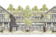 Cottage Style House Plan - 3 Beds 2.5 Baths 3298 Sq/Ft Plan #20-1265 Exterior - Front Elevation