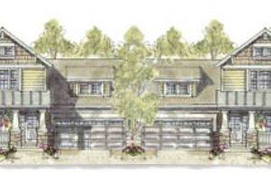 Cottage Exterior - Front Elevation Plan #20-1265