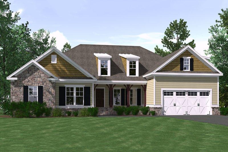House Plan Design - Ranch Exterior - Front Elevation Plan #1071-3