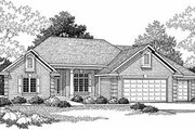 Traditional Style House Plan - 3 Beds 2.5 Baths 2411 Sq/Ft Plan #70-384 Photo