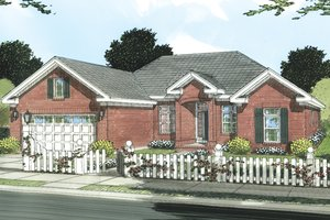 Traditional Exterior - Front Elevation Plan #513-2047